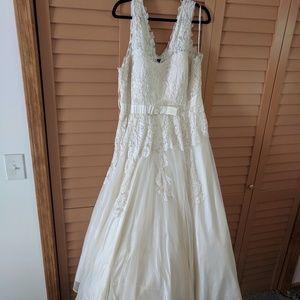 Modcloth wedding dress - 2X
